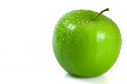 фото зеленое яблоко