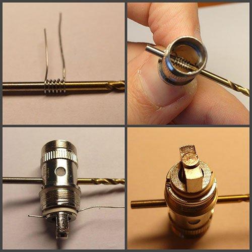 Спираль для электронной сигареты своими руками